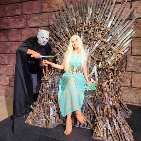Sinta-se membro da família Real - Game Of Thrones em Caldas Novas